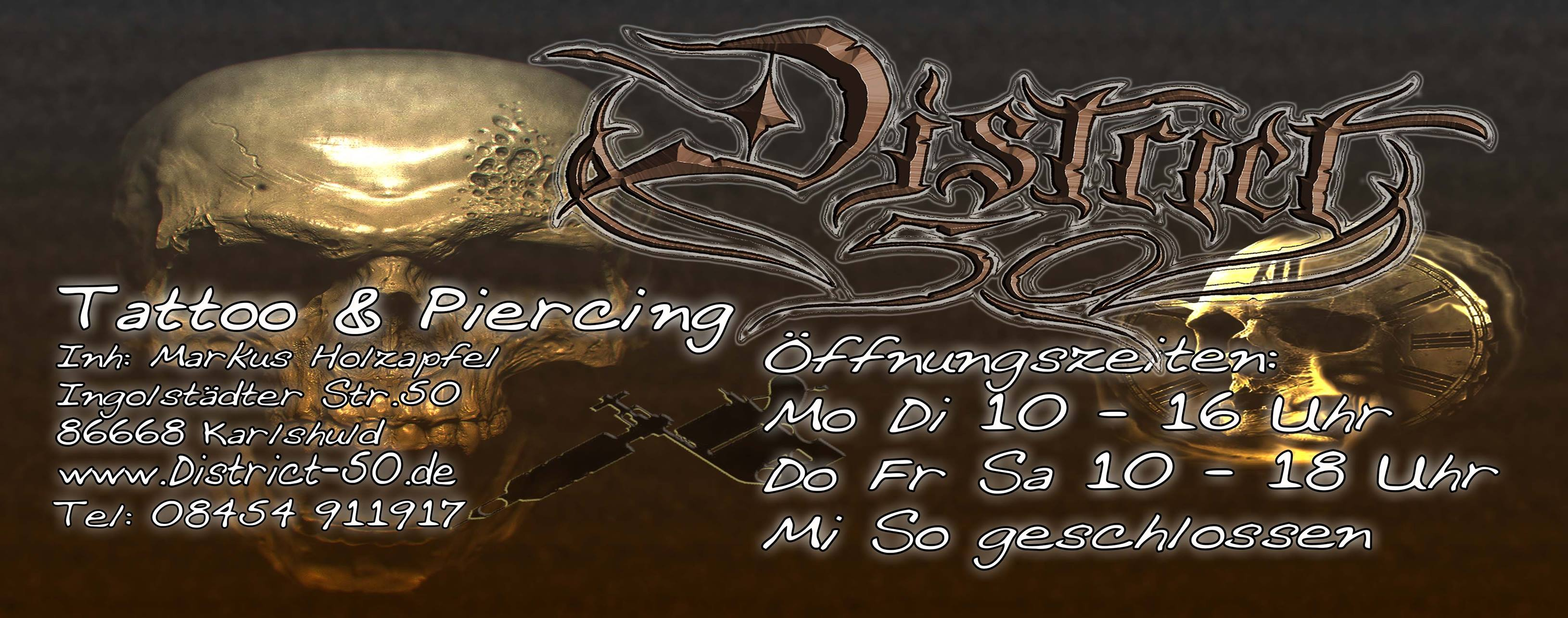 District 50 Tattoo & Piercing
